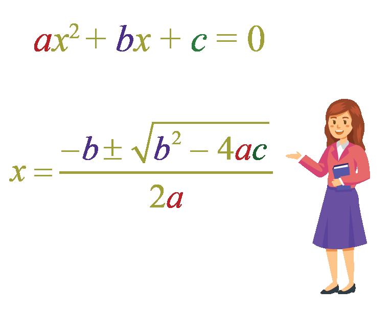 remembering quadratic formula