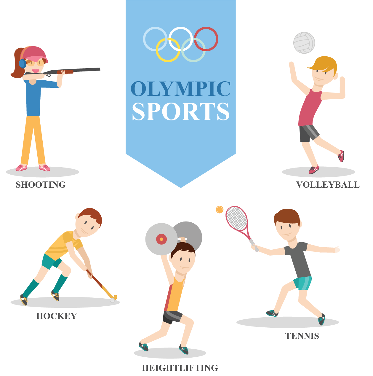 Summer Olympics are held after every 4 years