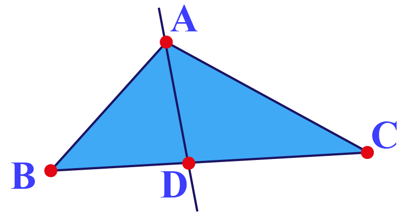 Statement of Angle Bisector Theorem