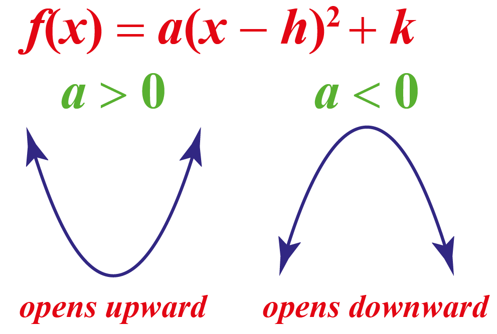 The curve of a quadratic function is a parabola.