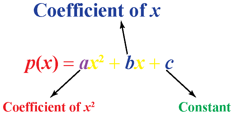 What is general form of Quadratic polynomial