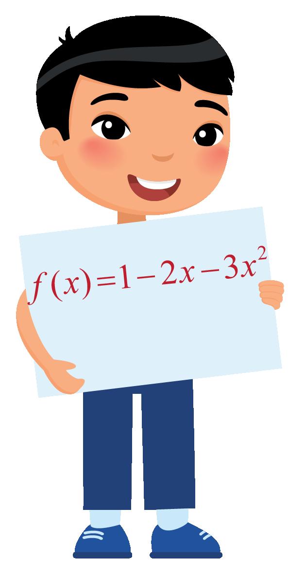 Jack is showing the quadratic equation.