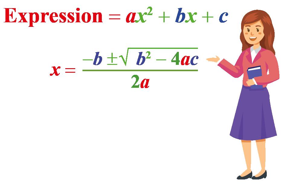 What is quadratic formula