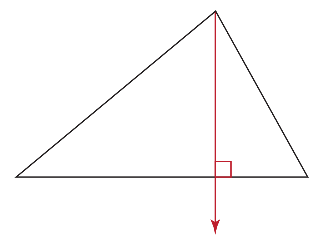 perpendicular altitude
