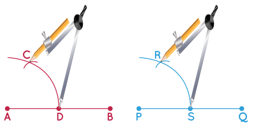 construction of congruent angles step 3