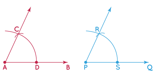 construction of congruent angles step 4