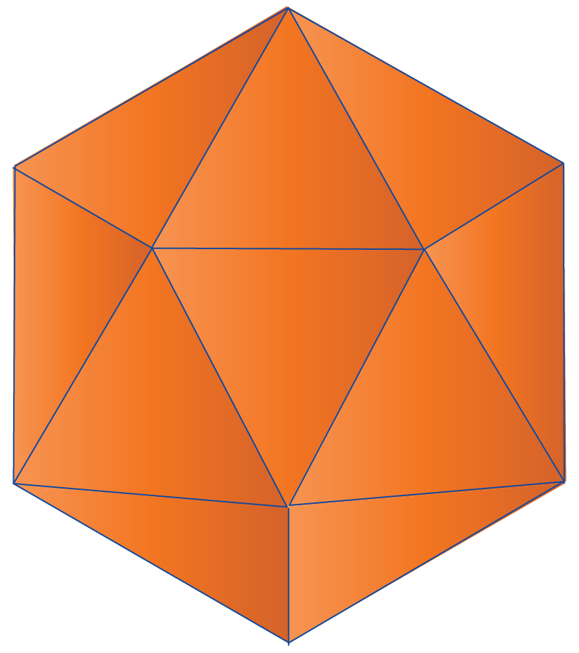 platonic solid, icosahedron