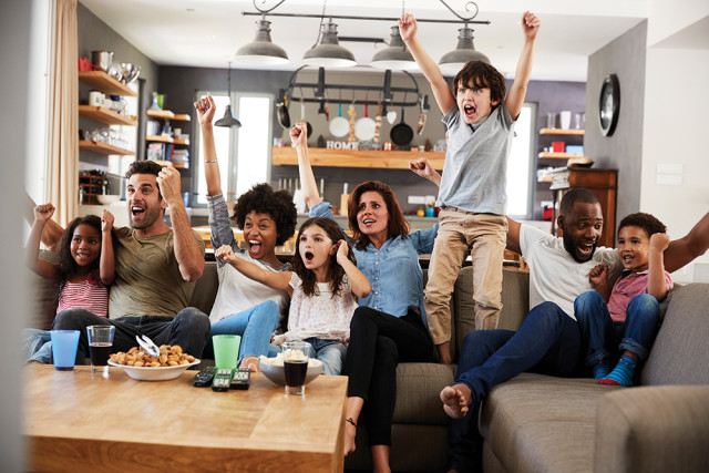 Benefits of watching sports with Family