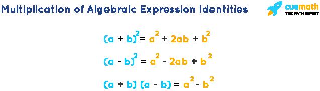Multiplication of Algebraic Expression Identities