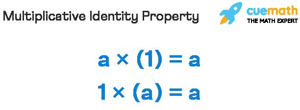 Multiplicative Identity Property
