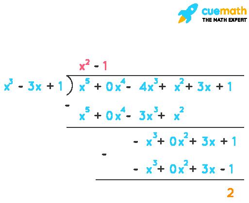 (iii) x3- 3x + 1, x5- 4x3+ x2+ 3x + 1