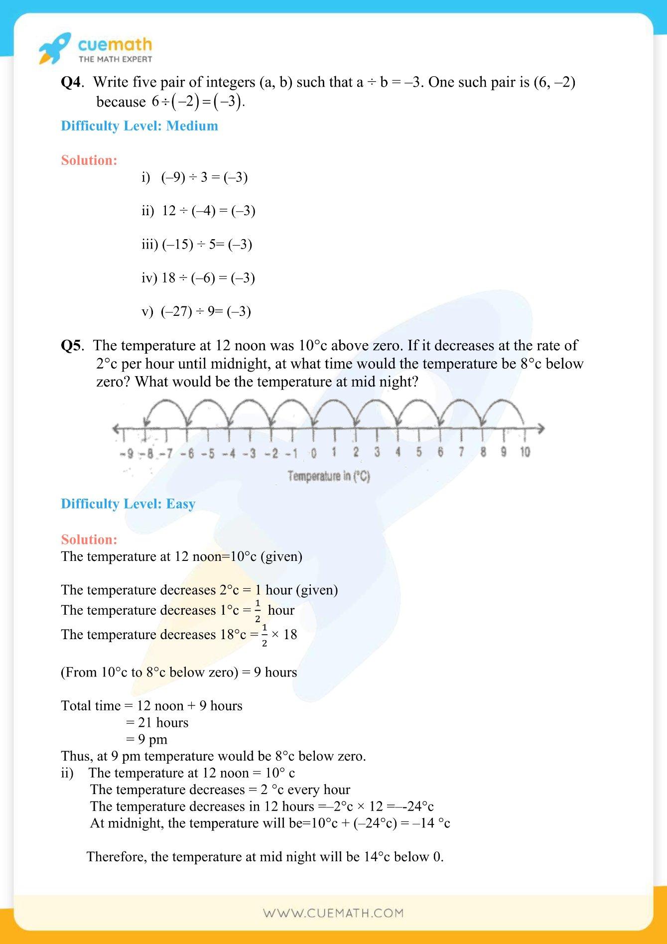 NCERT Solutions Class 7 Maths Chapter 1 Exercise 1.4