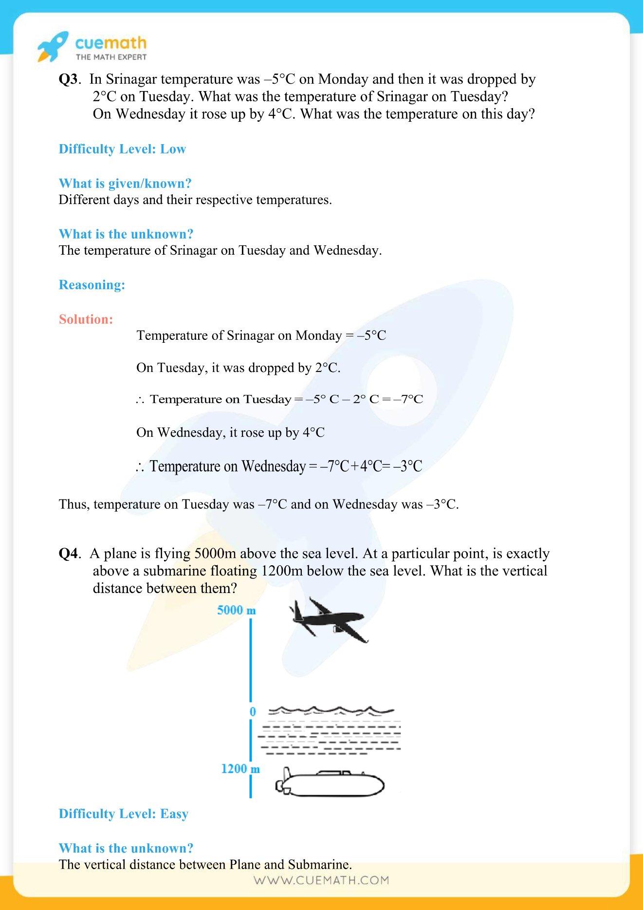 NCERT Solutions Class 7 Maths Chapter 1 Exercise 1.1