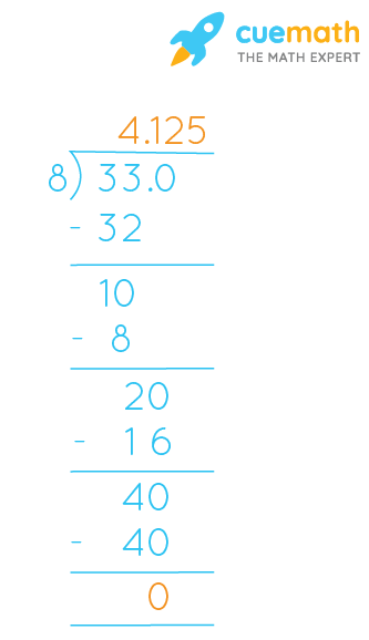 4 1/8 can be expressed as 33/8 in terms of improper fraction.