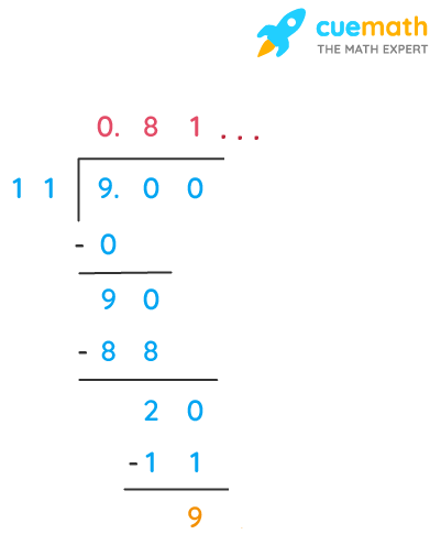 Find three different irrational numbers between the rational numbers 5/7 and 9/11.
