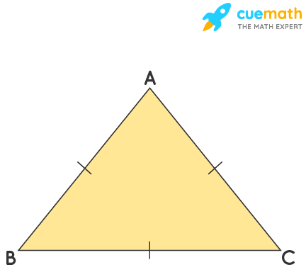 Show that the angles of an equilateral triangle are 60° each.