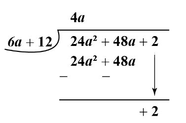 long division of polynomials examples