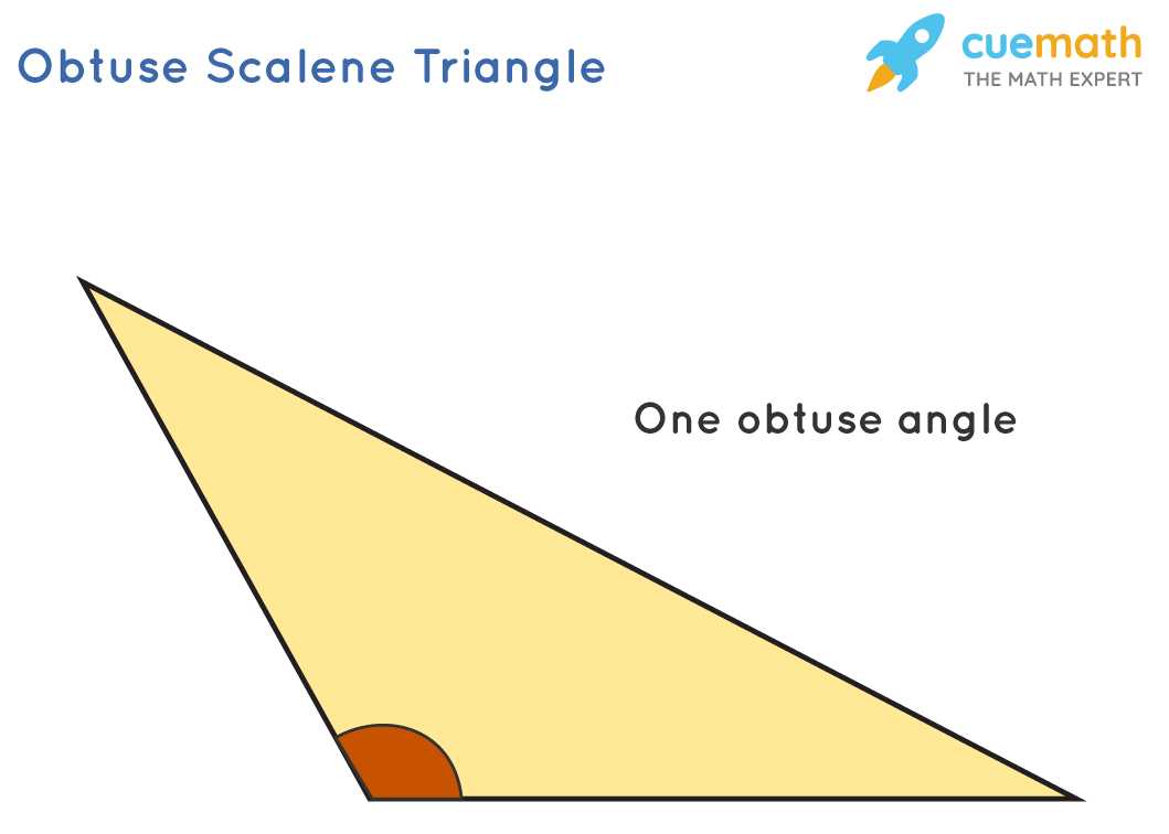 obtuse scalene triangle