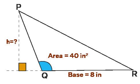 obtuse scalene triangle example