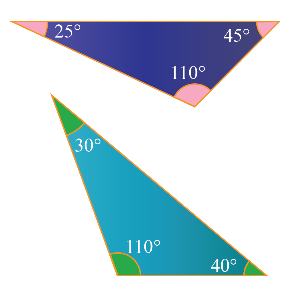 Examples of obtuse triangles