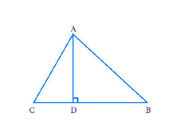 The perpendicular from A on side BC of a ∆ABC intersects BC at D such that DB = 3CD (see Fig. 6.55). Prove that 2AB2 = 2AC2 + BC2.