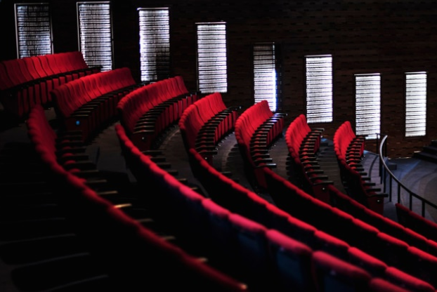 Seats in the theatre