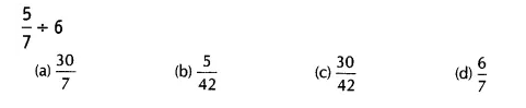 Problem 5 with options