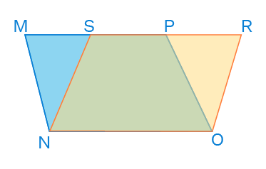 parallelograms on the same base and between same parallel lines example 2