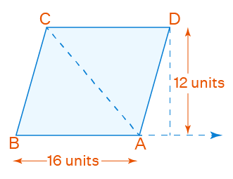 triangle abc and parallelogram abcd lies in between the same parallel lines