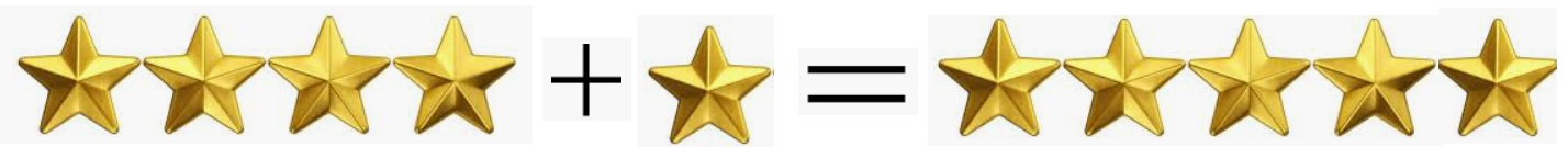addition with stars