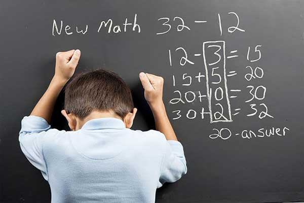 Math anxiety and learning how to overcome them