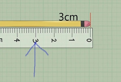 pencil and scale