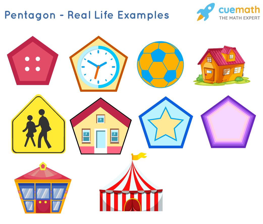 Pentagon Shape Examples