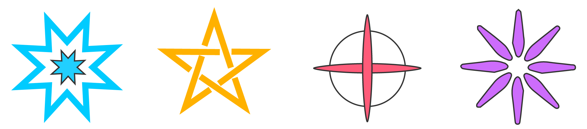 Pentagram Example