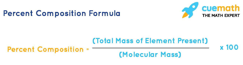Percent Composition Formula