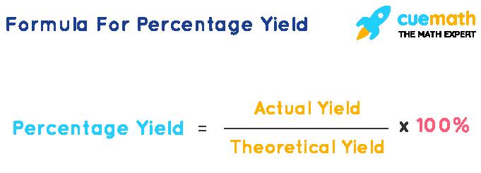 Percentage Yield Formula