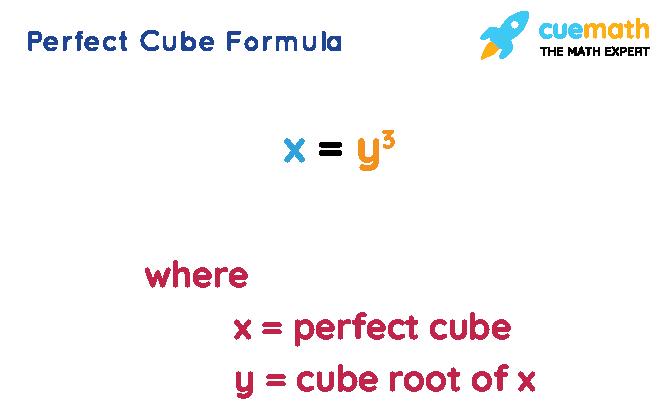 Perfect Cube Formula