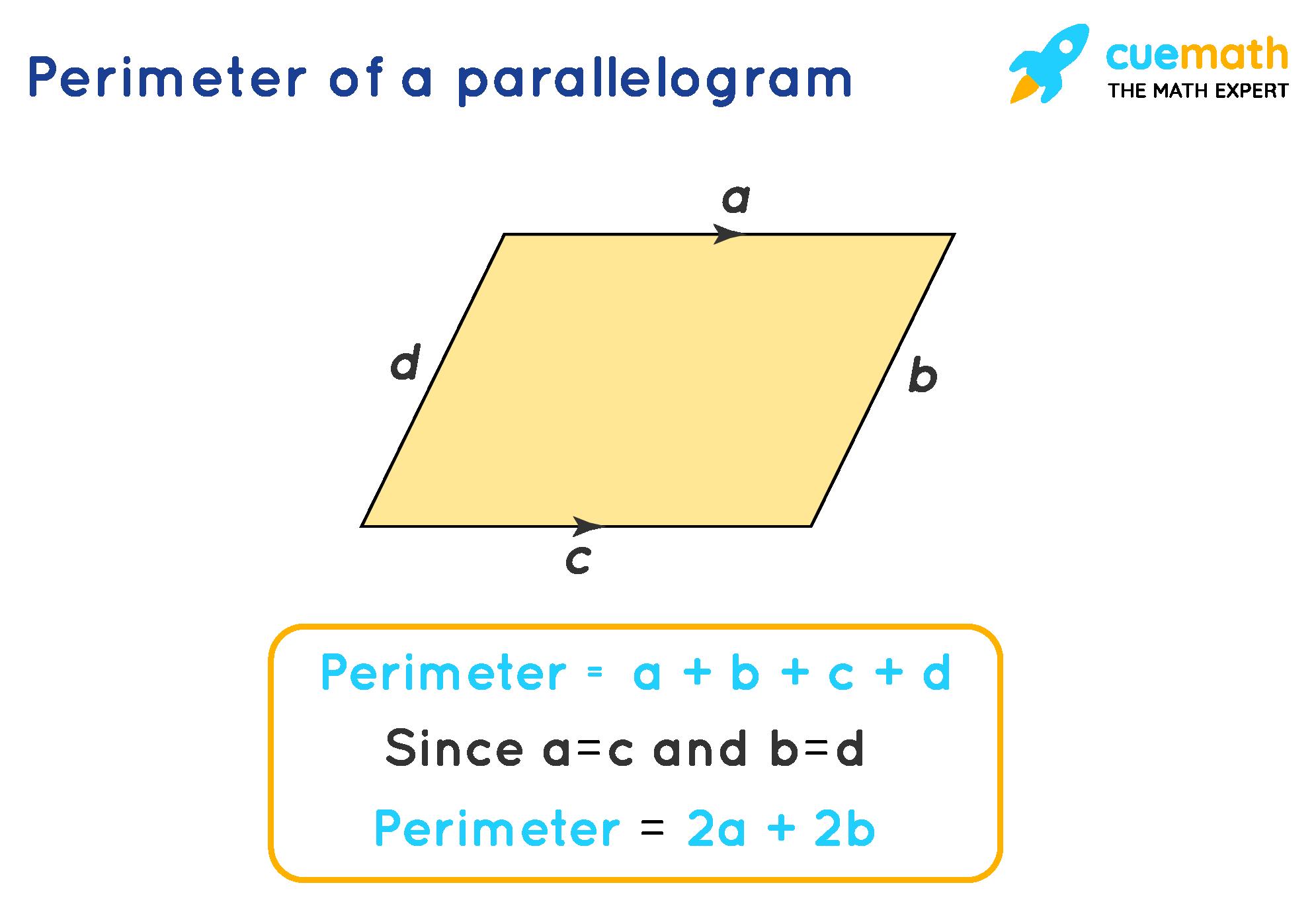 Perimeter of a parallelogram