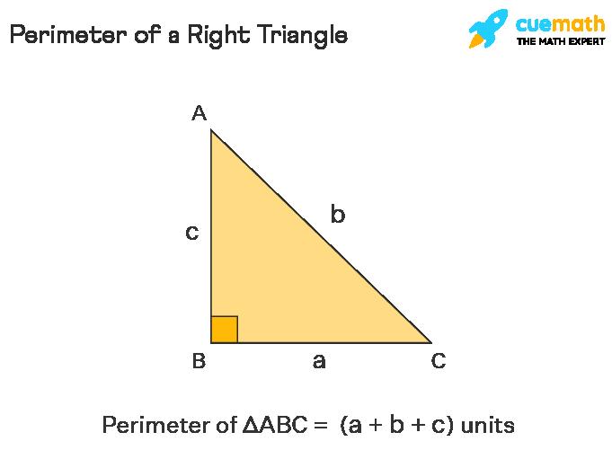 Perimeter of a right triangle