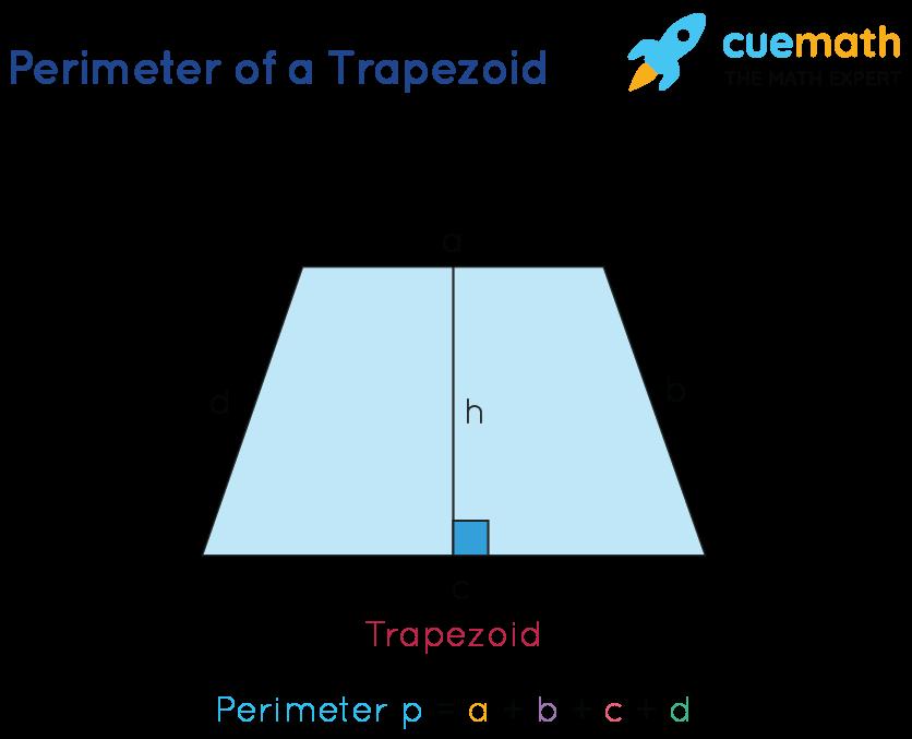 perimeter of trapezoid formula