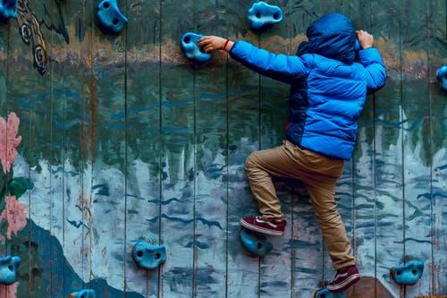 kids rock climbing: fun exercises for kids