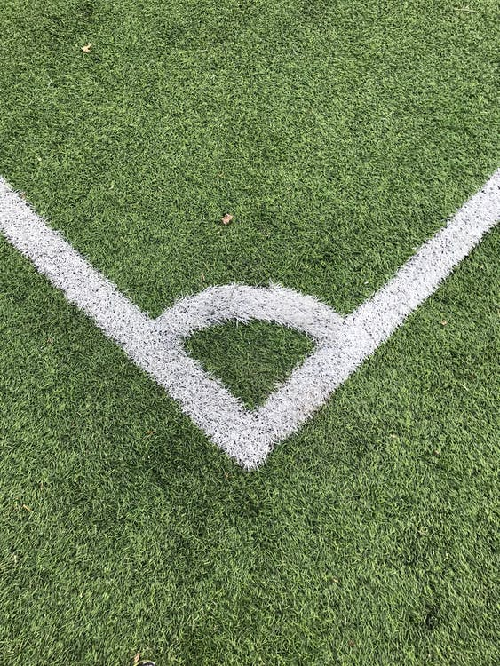 Mathematical Football: Angle within the football field