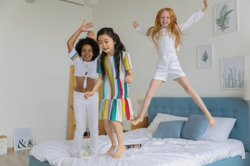 kids dong jumping jacks: simple and easy exercises for kids