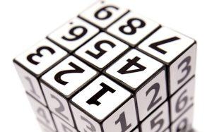 number rubics cube