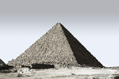 Pyramid in real life