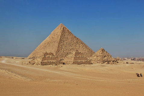 Thales measured the height of pyramids by their shadows