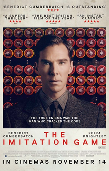 The Imitation Game Movie poster 2014