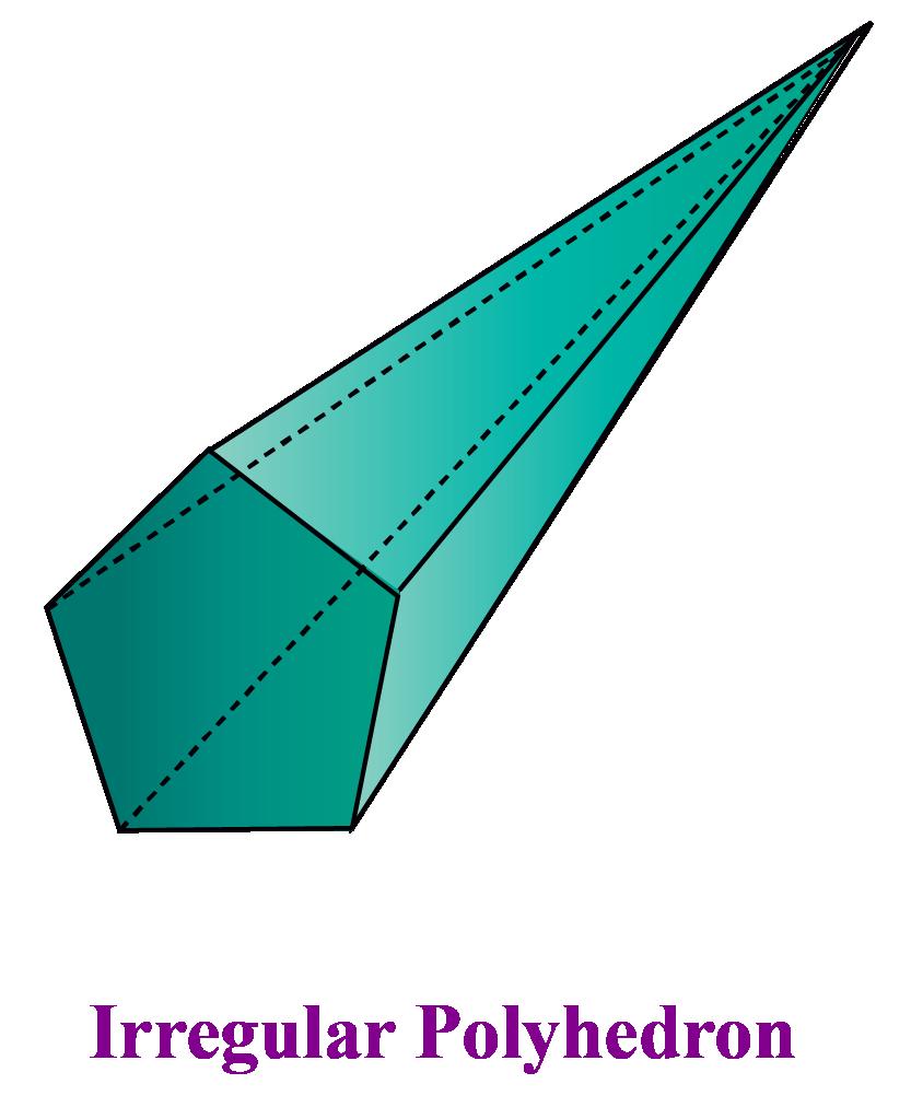 irregular polyhedron