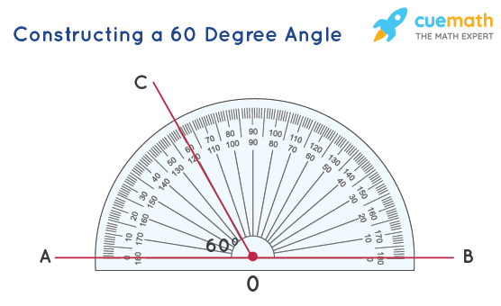 Constructing a 60 Degree Angle