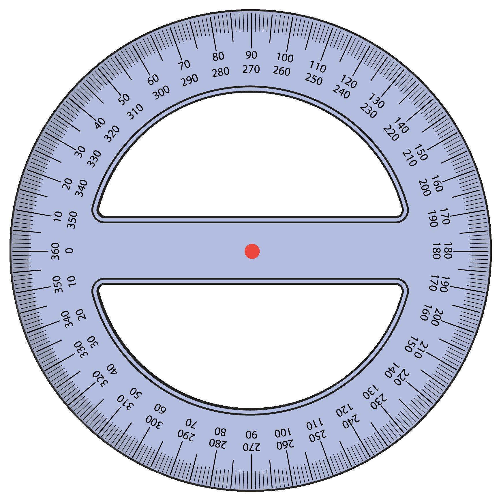 360 degree protractor tool